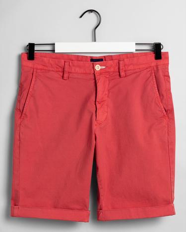 GANT Erkek Kırmızı Regular Fit Bermuda Şort