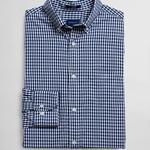 Gant Erkek Lacivert-Beyaz Regular Fit Gömlek
