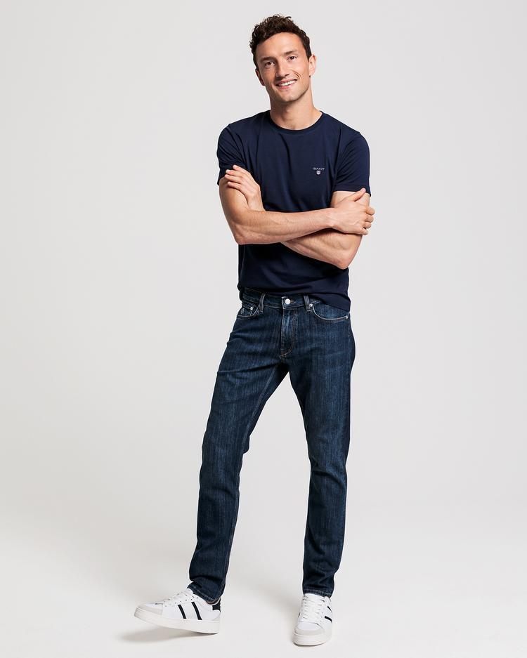 Erkek Tech Prep Lacivert Jean Pantolon