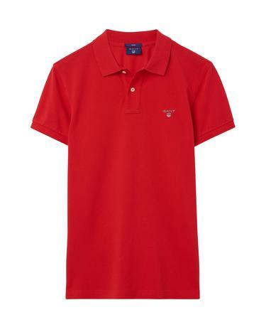 Erkek Kırmızı Slim Polo
