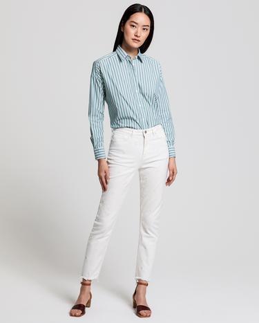 GANT Kadın Krem Denim Pantolon