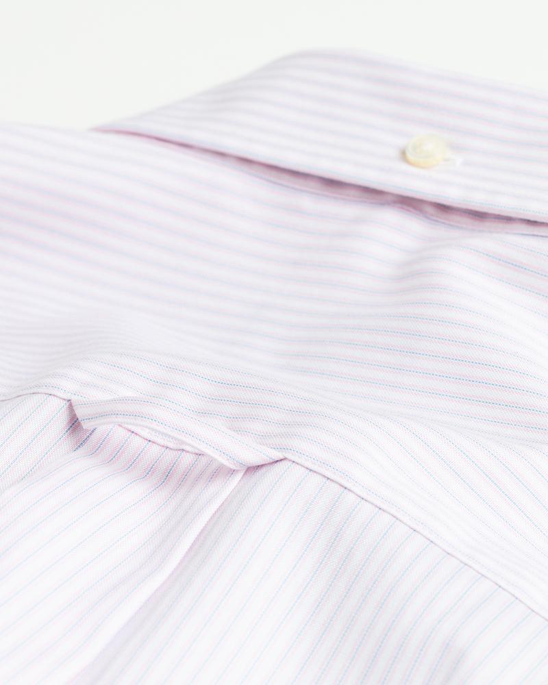 GANT Erkek Pembe Çizgili Regular Fit Gömlek