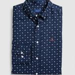 Gant Erkek Lacivert Regular Fit Gömlek