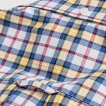 GANT Erkek Sarı Regular Fit Kareli Gömlek