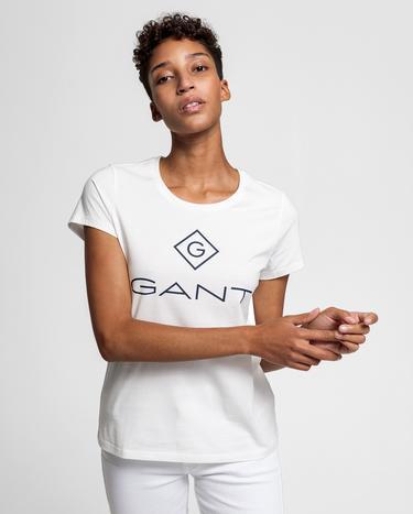 Gant Kadın Krem Tshirt