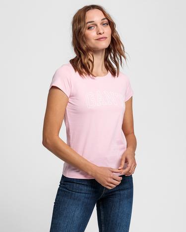 GANT Kadın Pembe Tshirt