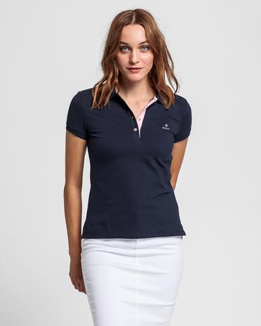 Gant Kadın Lacivert Polo
