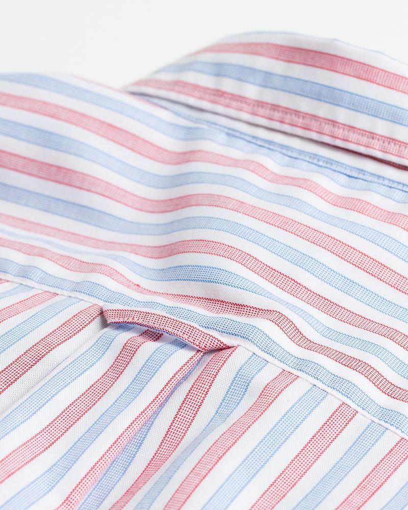 GANT Erkek Renkli Çizgili Regular Fit Gömlek