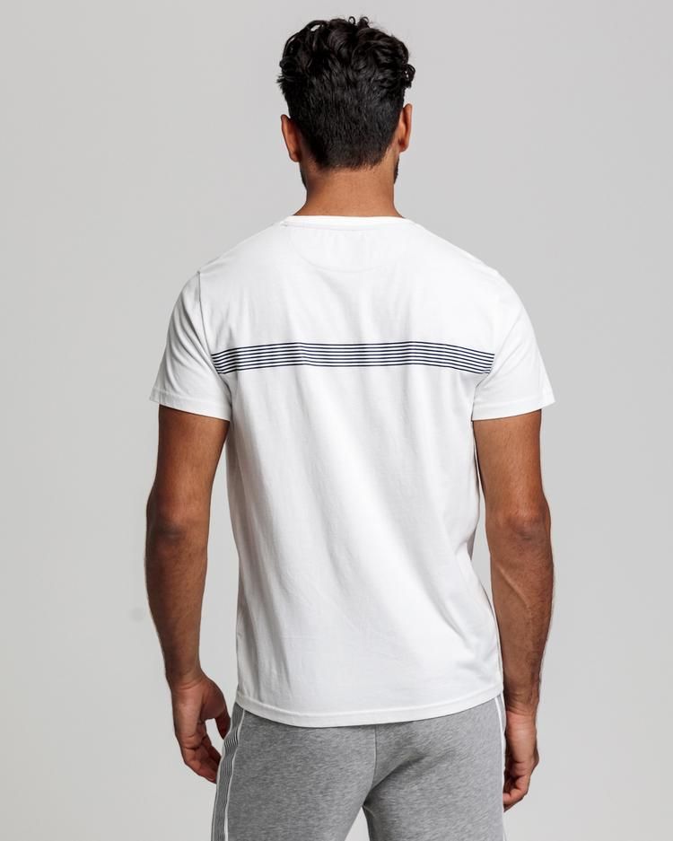 GANT Erkek Krem Regular Fit T-Shirt