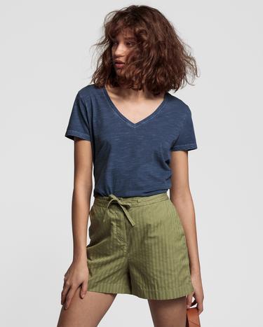 GANT Kadın Lacivert Tshirt
