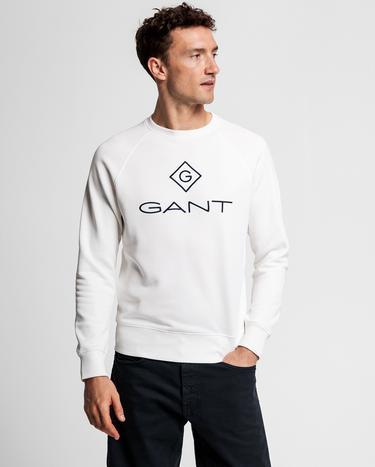 Gant Erkek Krem Sweatshirt