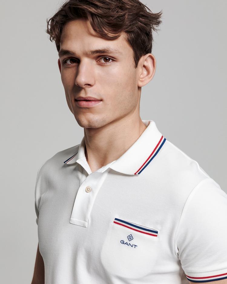 GANT Erkek Krem Polo