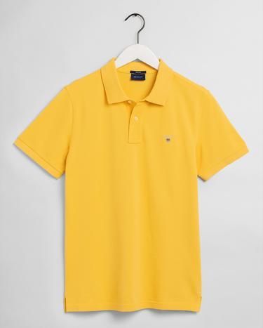 Gant Erkek Sarı Polo