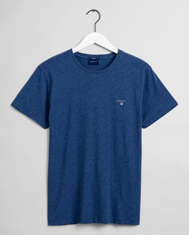 GANT Erkek Lacivert Regular Fit T-Shirt