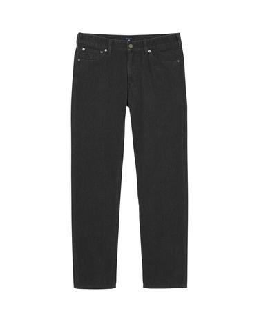 GANT Soft Twill Erkek Siyah Regular Jean