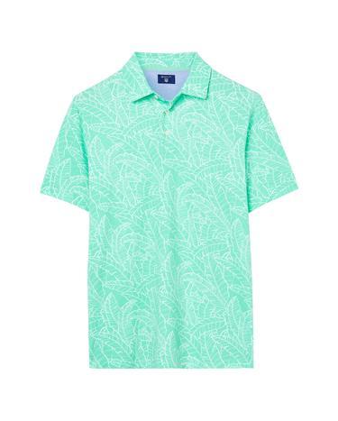 GANT Erkek Çiçekli Yeşil Polo