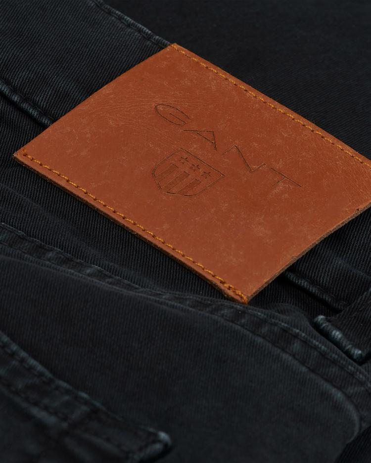 GANT Erkek Desert Siyah Slim Jean Pantolon