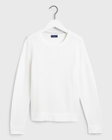 GANT Kadın Beyaz Triko