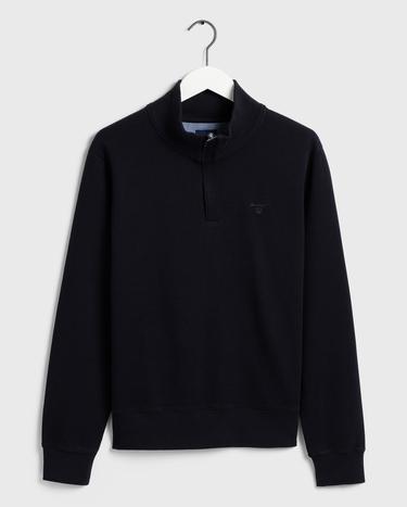 GANT Erkek Lacivert Fermuarlı Sweatshirt