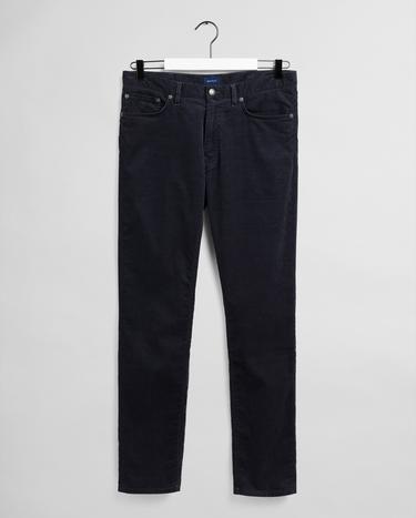 GANT Erkek Antrasit Tapered Fit Pantolon