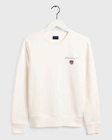 GANT Erkek Beyaz Sweatshirt