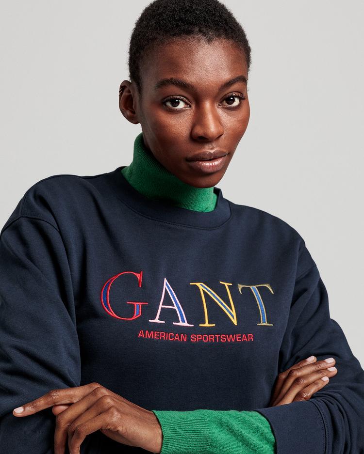 GANT Kadın Lacivert Sweatshirt