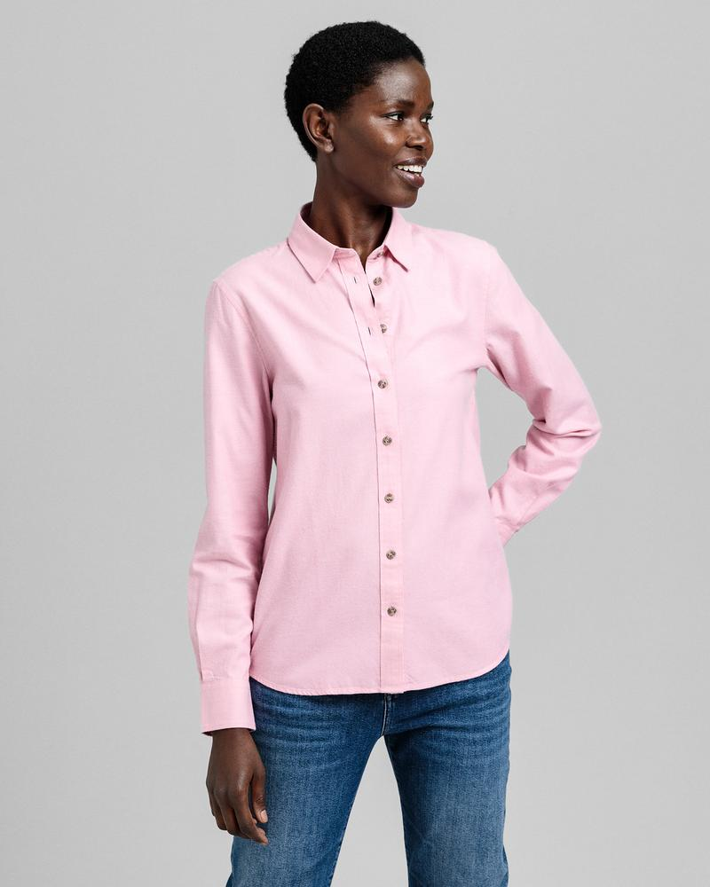GANT Kadın Pembe Regular Fit Gömlek