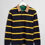 GANT Erkek Sarı Uzun Kollu Regular Fit Polo