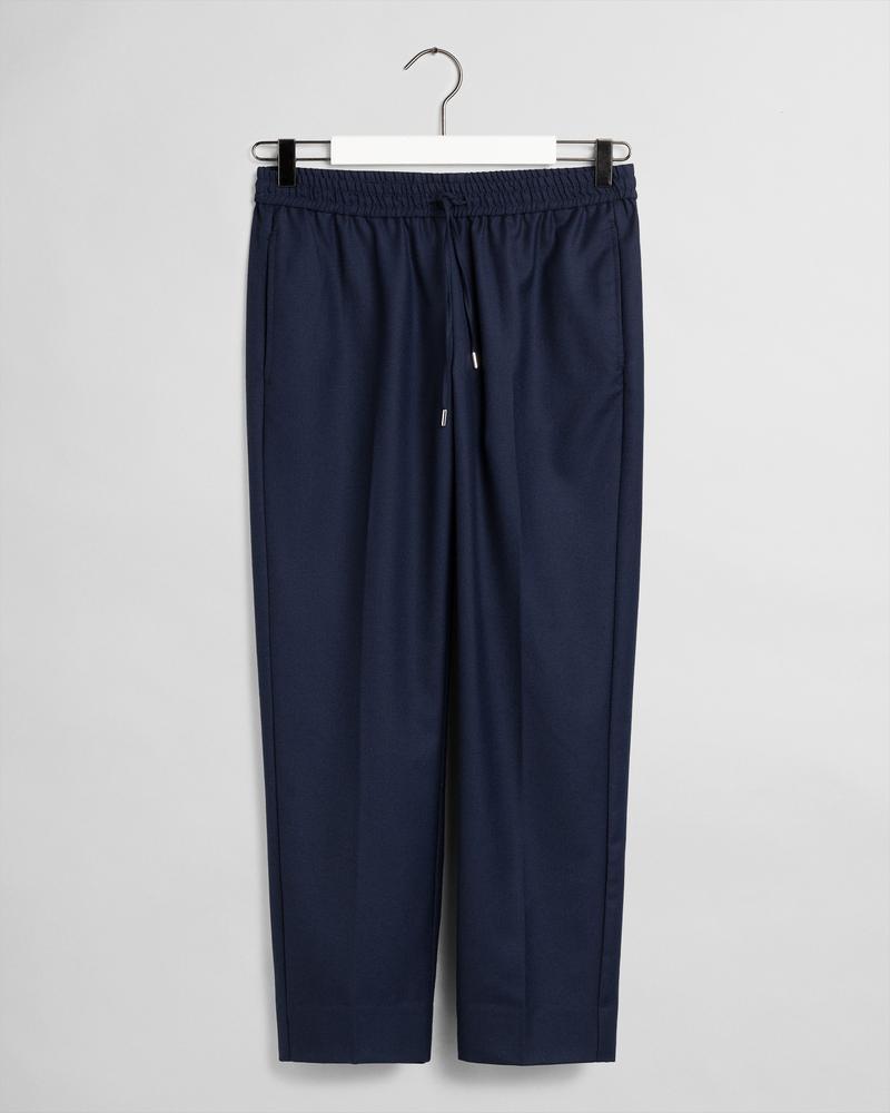 GANT Kadın Lacivert Yün Pantolon