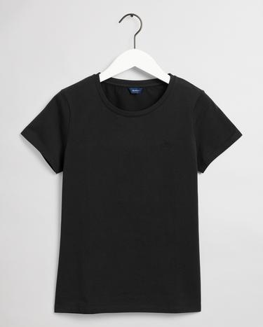 GANT Kadın Siyah T-Shirt