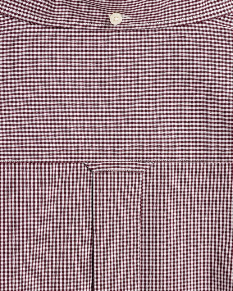 GANT Erkek Kırmızı Regular Fit Kareli Gömlek