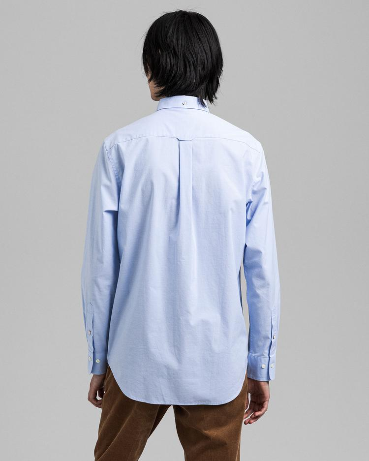 GANT Erkek Mavi Regular Fit Gömlek