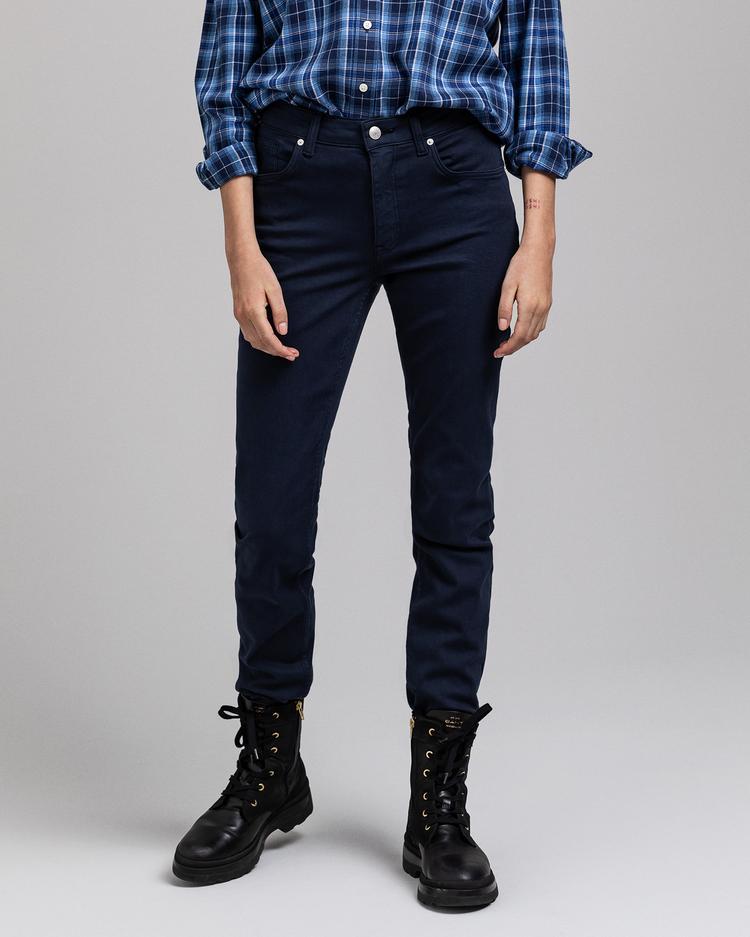 GANT Kadın Lacivert Pantolon