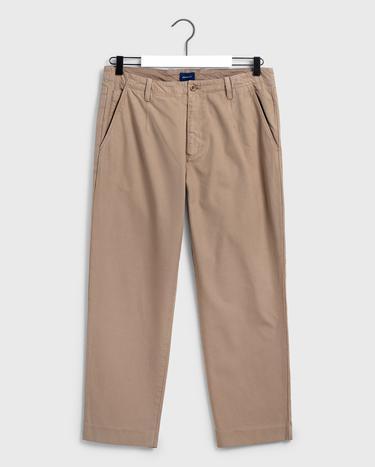 GANT Erkek Haki Chino Pantolon