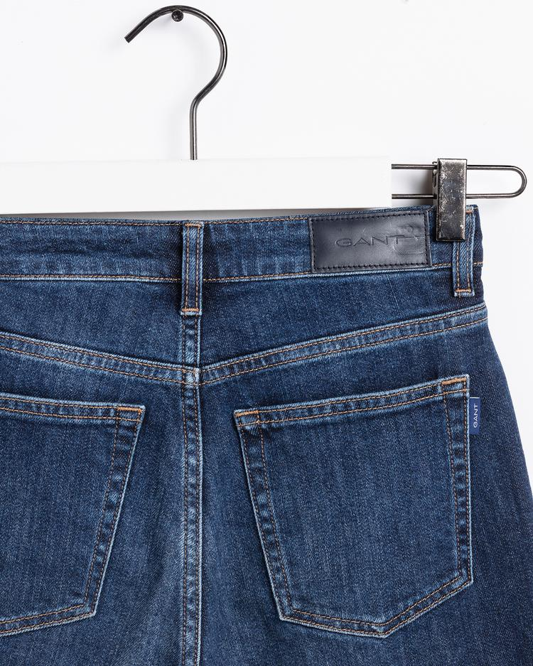GANT Kadın Mavi Pantolon