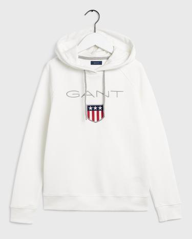 GANT Kadın Beyaz Sweatshirt