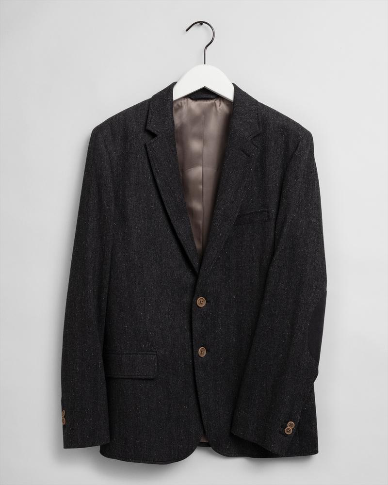 GANT Erkek Antrasit Blazer Ceket