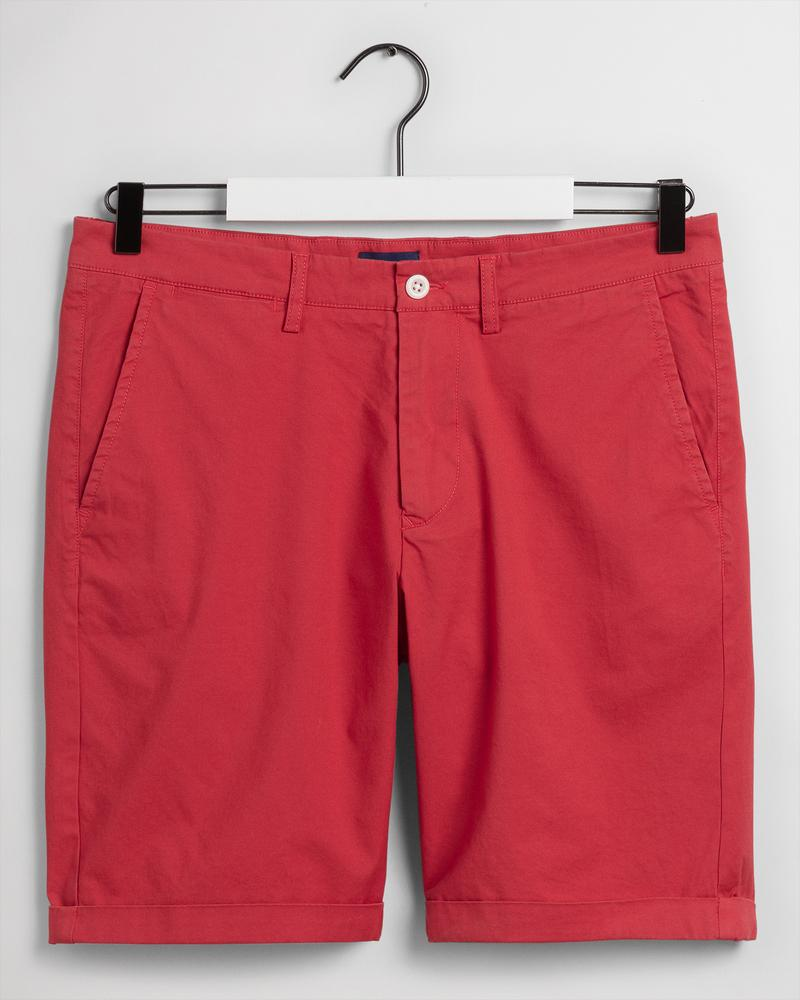 Gant Erkek Kırmızı Bermuda Şort