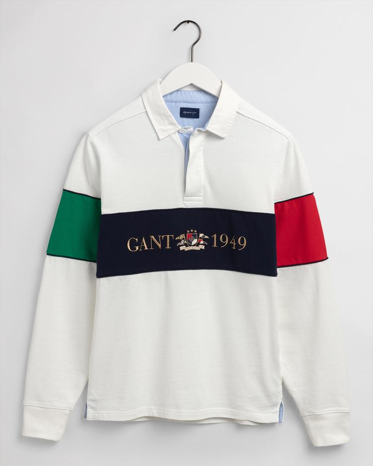 GANT Erkek Beyaz Rugby