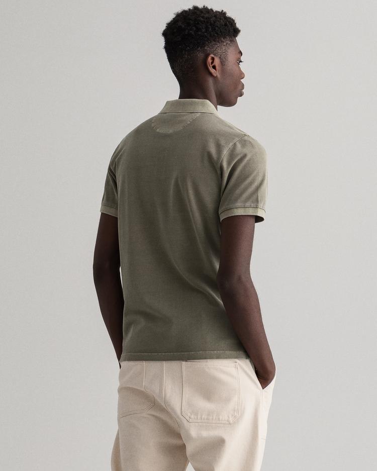 Gant Erkek Yeşil Regular Fit Polo