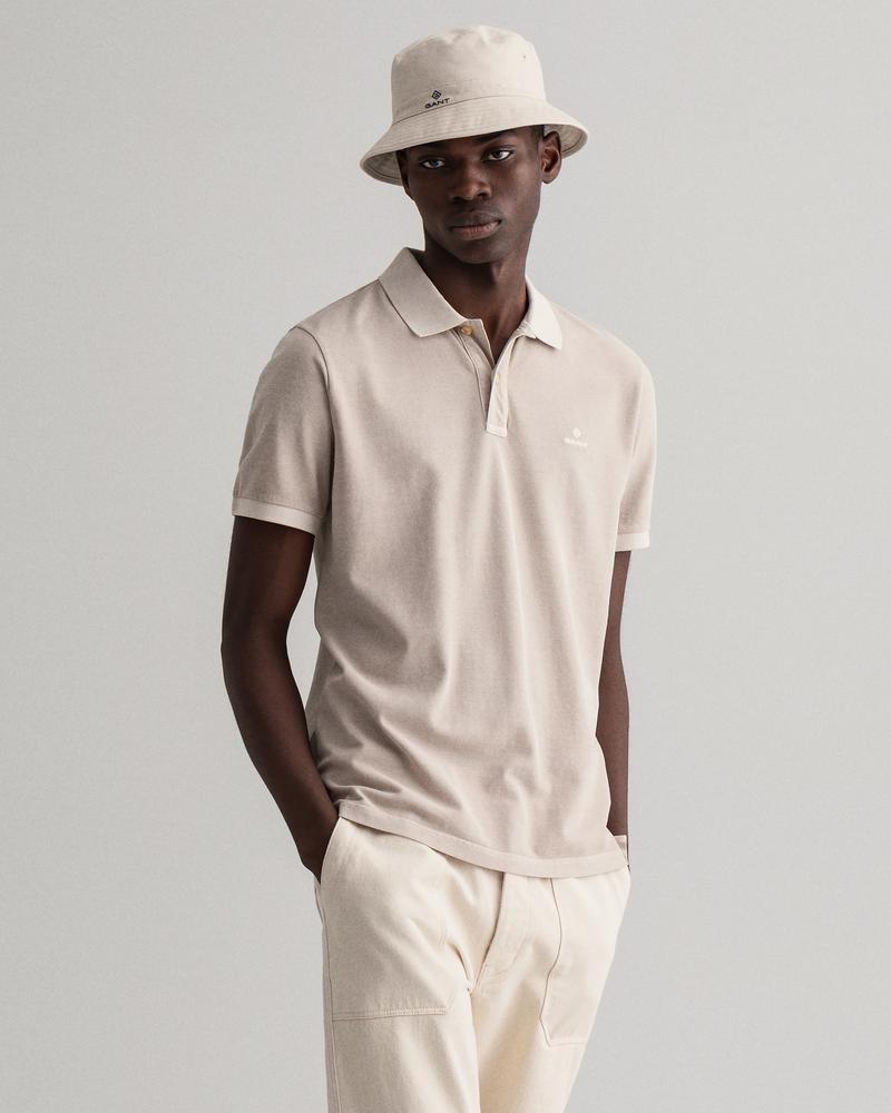 Gant Erkek Regular Fit Bej Polo