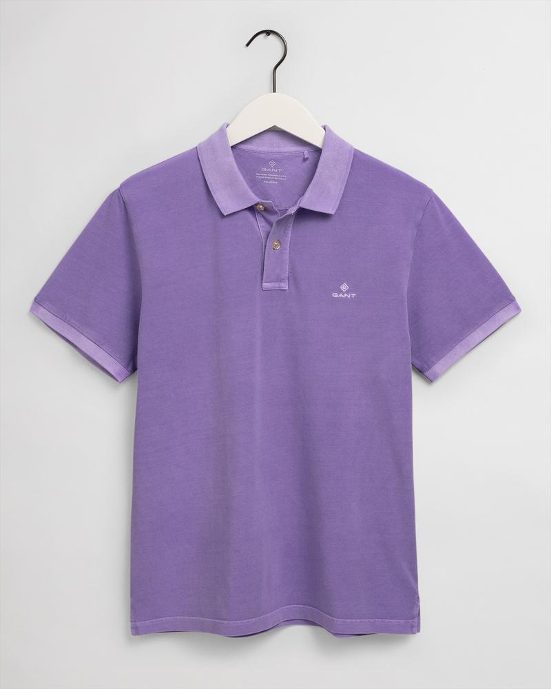 Gant Erkek Mor Regular Fit Polo