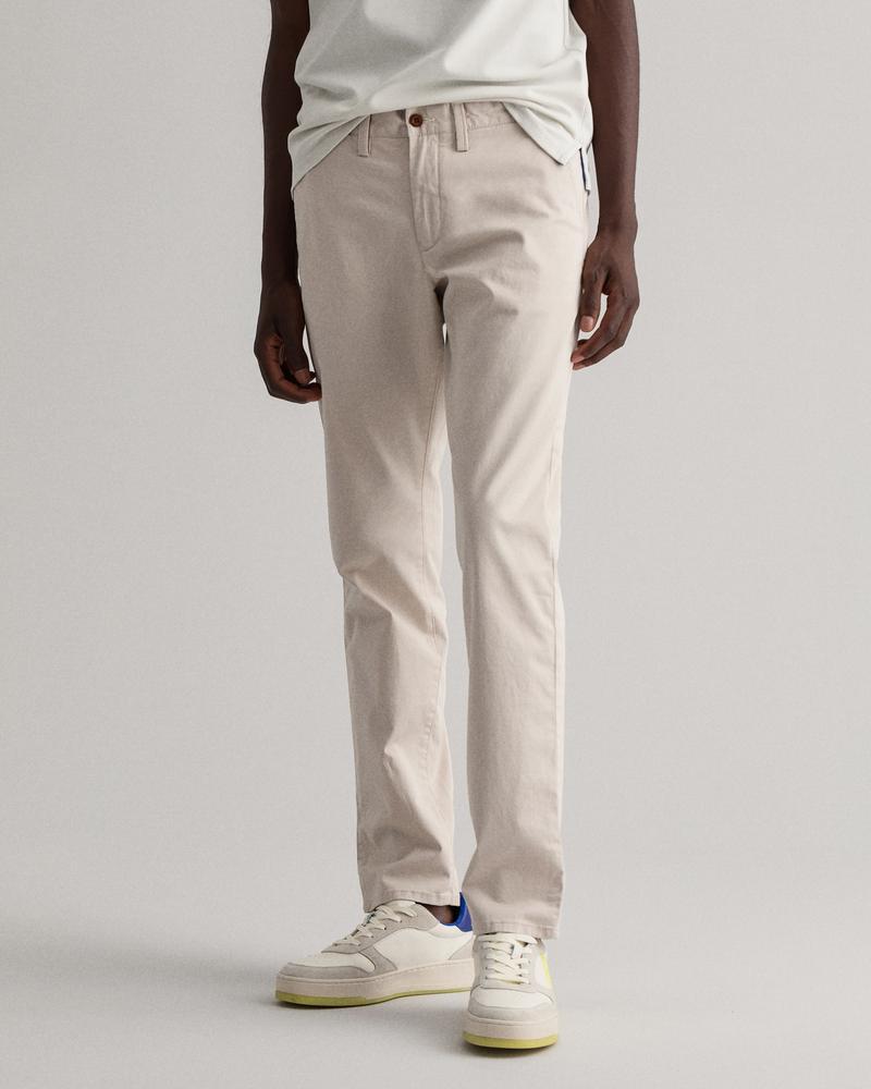 GANT Erkek Bej Slim Fit Pantolon