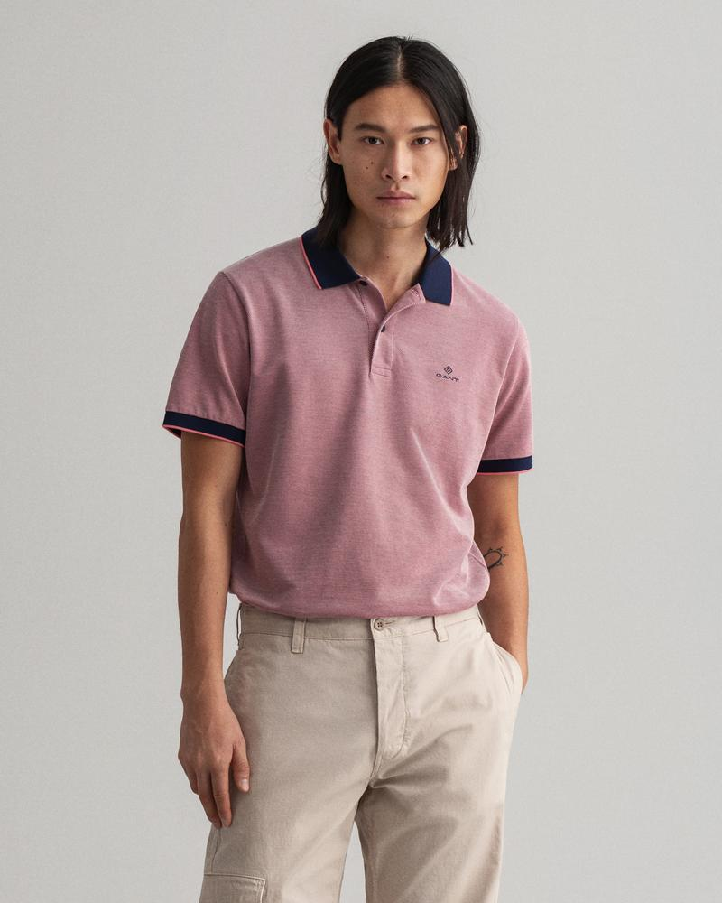 Gant Erkek Pembe Regular Fit Polo
