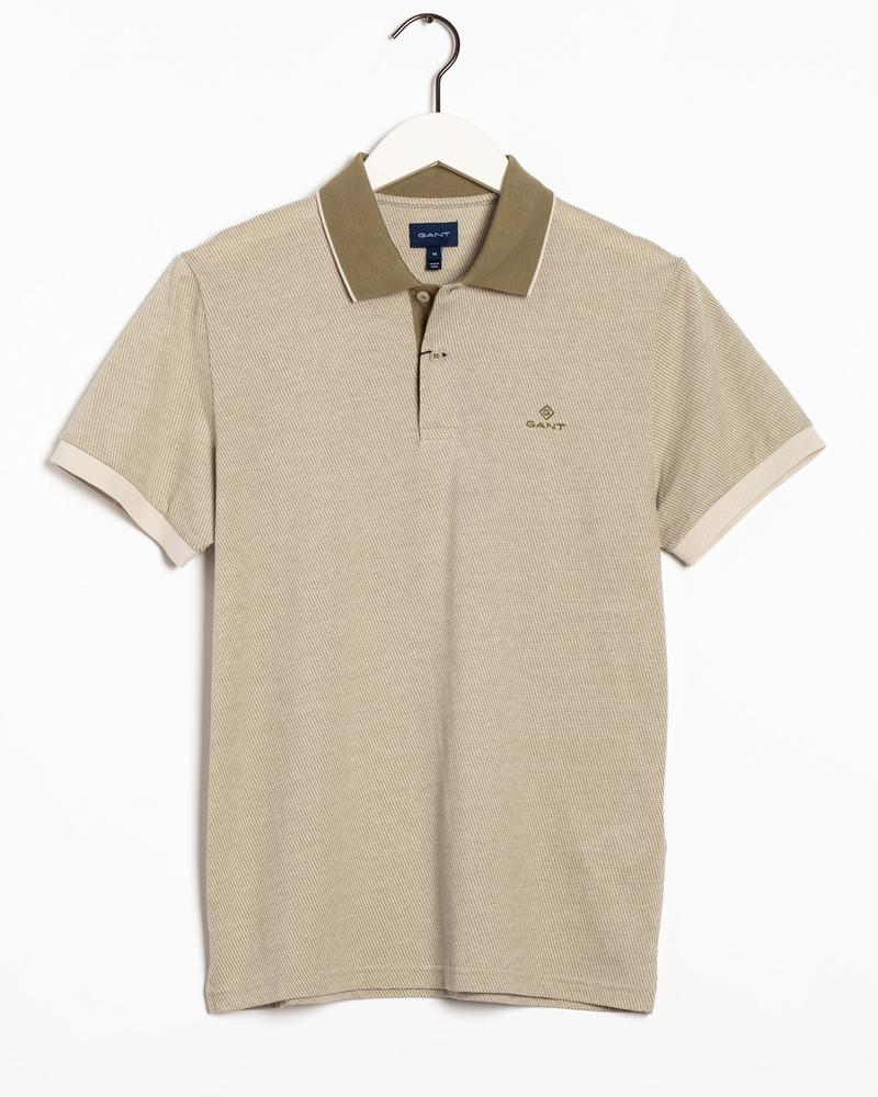 Gant Erkek Bej Regular Fit Polo