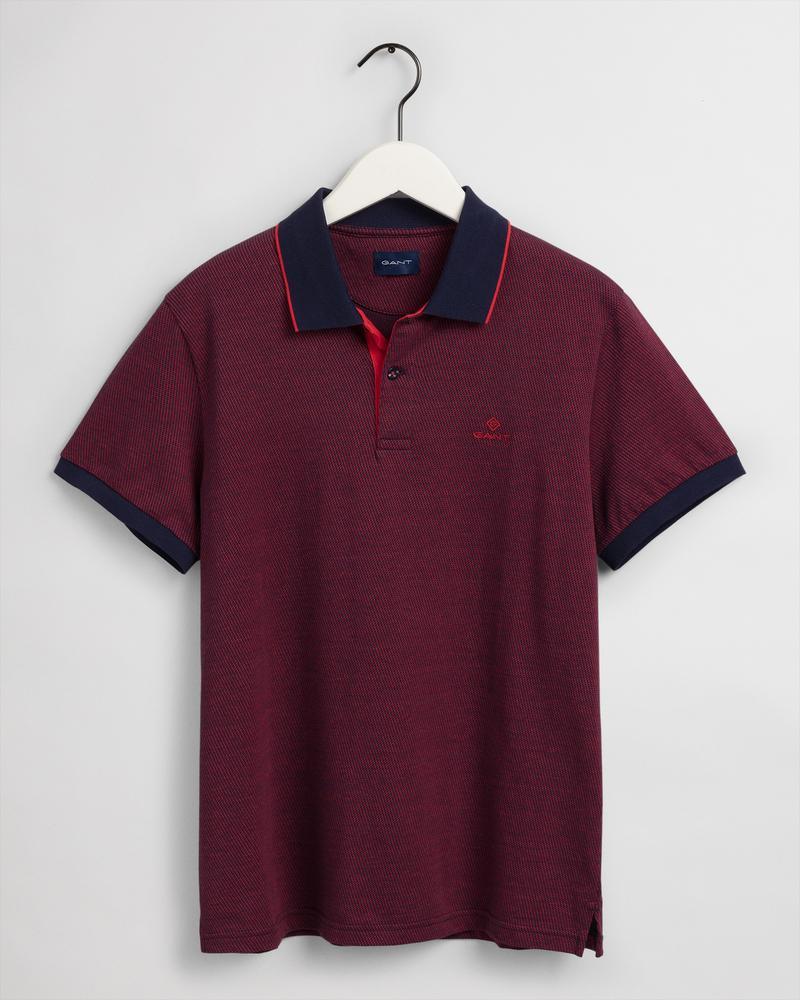 Gant Erkek Kırmızı Regular Fit Polo
