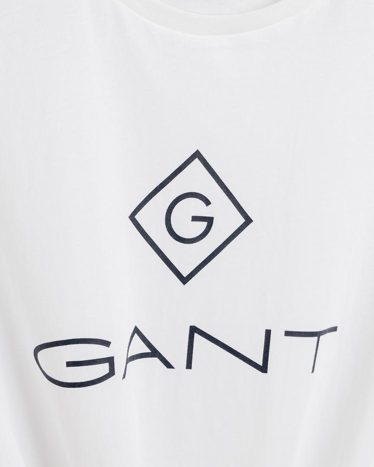 Gant Erkek Beyaz T-Shirt