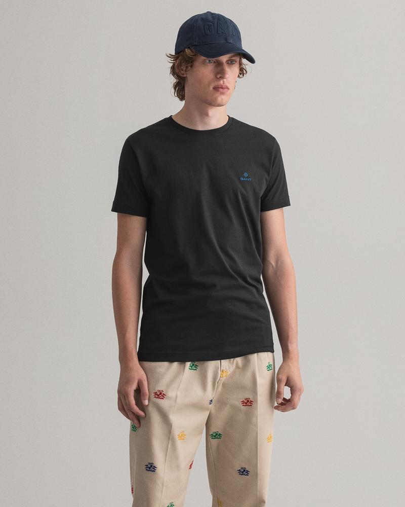 Gant Erkek Siyah T-Shirt