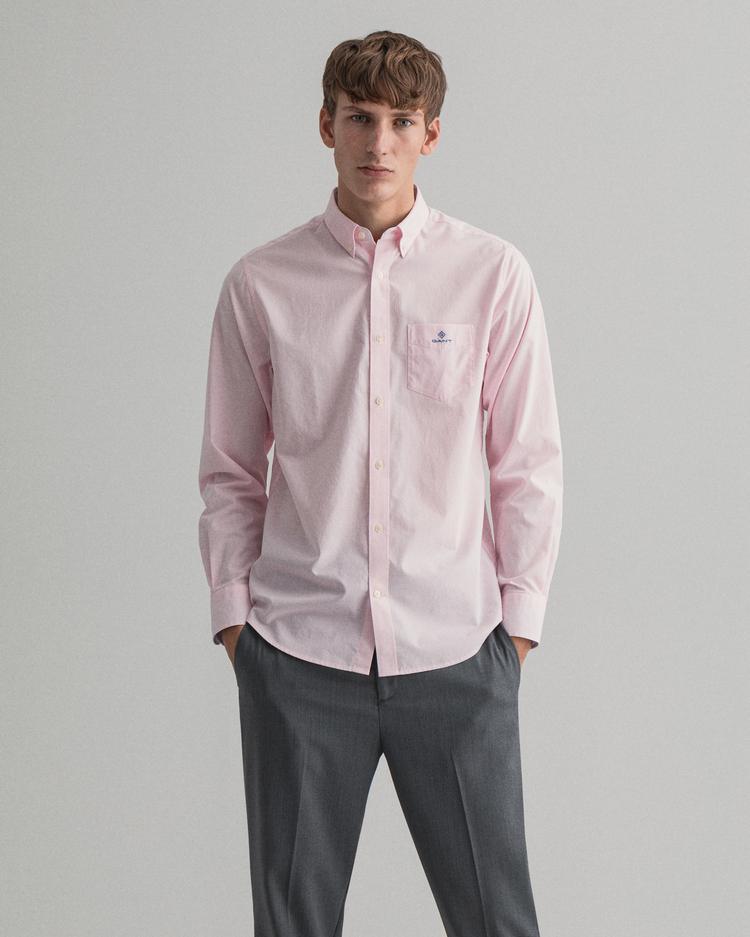 Gant Erkek Pembe Regular Fit Gömlek