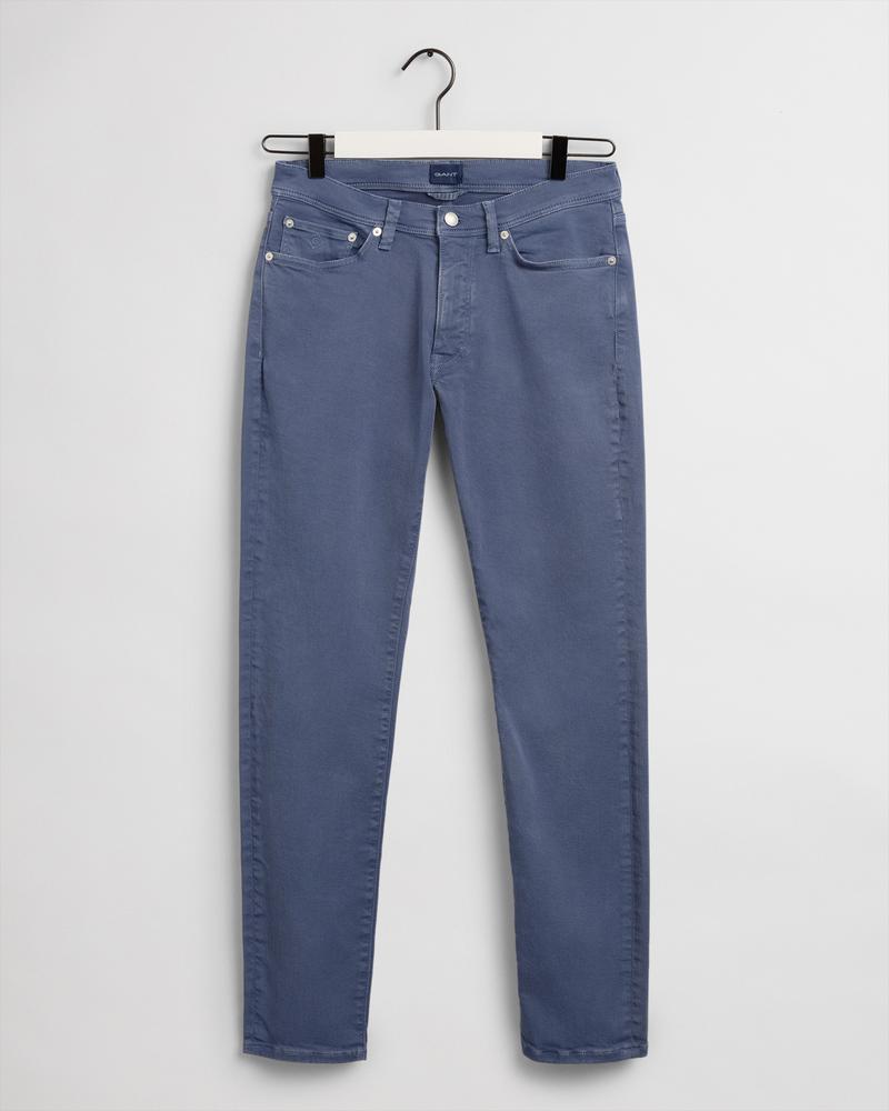 Gant Erkek Mavi Extra Slim Fit Pantolon